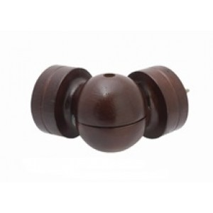 "Swivel Curtain Rod Elbow for 2"" Wood Drapery Rods~Each"