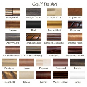 Gould Finish Samples~Each