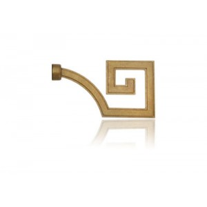 Jackie Von Tobel Greek Key Curtain Rod Final~Each