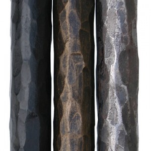 Iron Hammered Curtain Rod