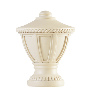 Hampton Finial -Antique White