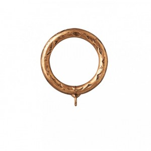 """Hammered Steel Ring for 1 3/4"""" Curtain Rod~Each"""