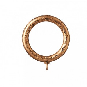 """Hammered Steel Ring for 2"""" or 2 1/4"""" Curtain Rods~Each"""
