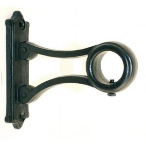"""Avlon Iron Bracket for 3/4"""" Curtain Rods~3 3/4 Return~Each"""