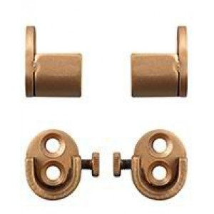 "Inside Mount Brackets for 1/2"" Curtain Rod~Pair"
