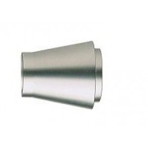"""Stainless Steel Inca Finial for 1 3/16"""" Curtain Rods~Each"""