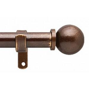 """Ball 1"""" Curtain Rod Set"""