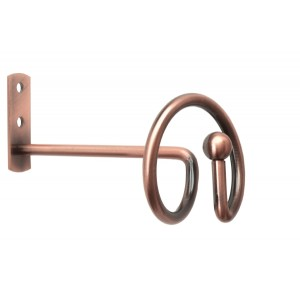 Lucca Copper Tie Back/Swag Holder