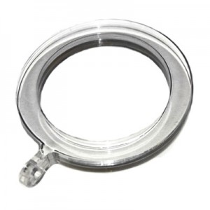 "Lucite Acrylic Ring for 1 1/8"" Rod Diameter"