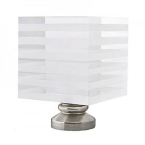"Striped Block Finial for 1 1/8"" Rod Diameter"