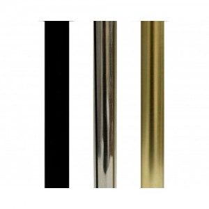 """8' Metro Curtain Rod Track~1 1/8"""" Diameter"""