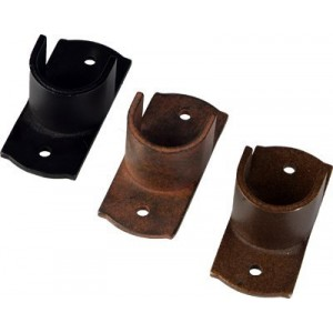 "Inside Mount Brackets for 1"" Curtain Rods~Pair"