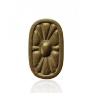 Oblong Rosette Medallion