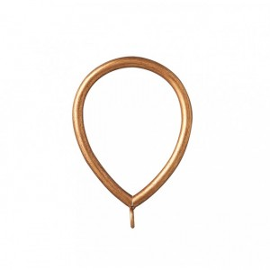 """Smooth Oval Steel Ring for 2"""" or 2 1/4"""" Curtain Rods~Each"""