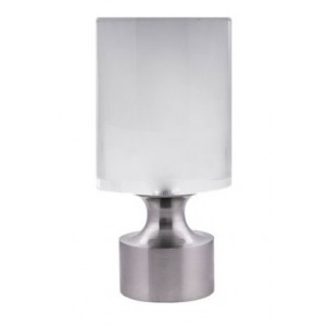 "Cylinder Finial for 1 1/2"" Curtain Rod"