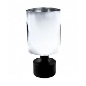 "Acrylic Cylinder Curtain Rod Finial for 1 1/2"" Drapery Rods~Each"