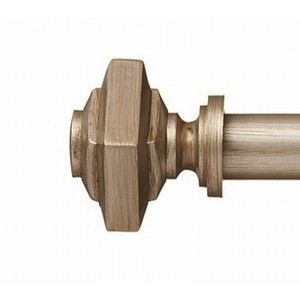"KeatonFinial for 1"" Curtain Rod~Pair"