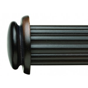 "Essex End Cap for 1 3/8"" Curtain Rod~Pair"