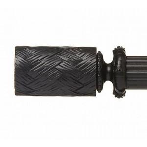 """Fairbanks Jewel Finial for 1 3/8"""" Curtain Rod ~ Pair"""