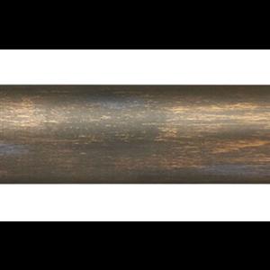 "6' Smooth Wood Curtain Rod Pole~1 3/8"" Rod Diameter"