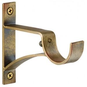 """Winston Single Bracket for 1 1/4"""" Curtain Rod~Each"""