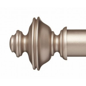 "Eirwen Finial for 2"" Curtain Rod~Pair"
