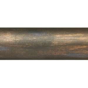 "2' Smooth Wood Drapery Rod~2 1/4"" Rod Diameter"