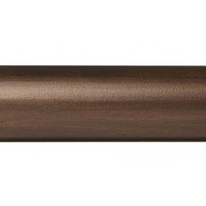 "6' Smooth Wood Curtain Drapery Rod~2 1/4"" Rod Diameter"