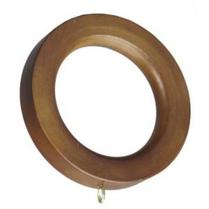 Flat Edge Drapery Ring~4 Pack