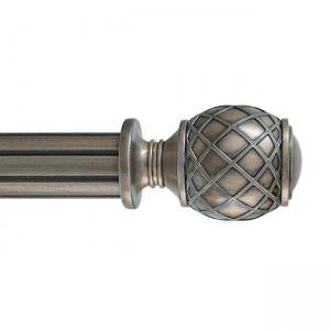 """Rattan Finial for 2"""" Drapery Curtain Rod~Each"""