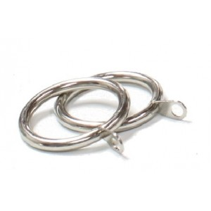 "Steel Curtain Ring for 1"" Curtain Rods~Each"