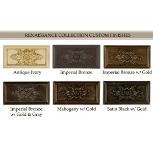 Renaissance Custom Finish Samples~Each