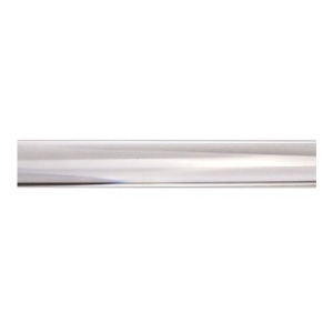 "6' Acrylic Curtain Rod~1 3/16"" Diameter"
