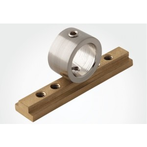 "Collar Bracket for Aria H-Rail 1 1/8"" Traversing Track~Each"