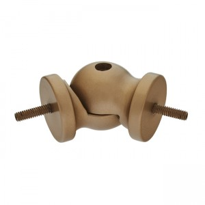 "Flexible Wood Elbow for 1 3/4"" Curtain Rod~Each"