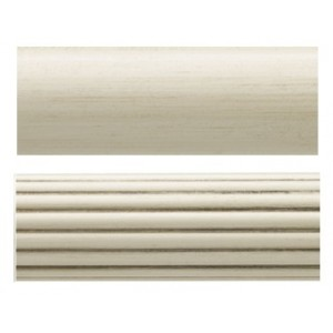 "Select 12' Wood Curtain Rod ~ 1 3/8"" Diameter"