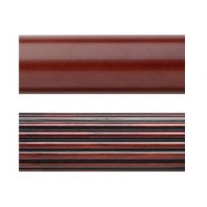 "Select 8' Wood Curtain Rod ~ 1 3/8"" Diameter"