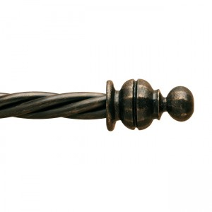 "Temple Finial for 1 3/4"" Curtain Rod~Each"