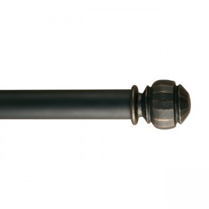 "Durante Finial for 1 3/4"" Curtain Rod~Each"