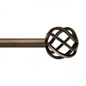 """SF158B7 Finial for 1 1/4"""" Curtain Rod~Each"""