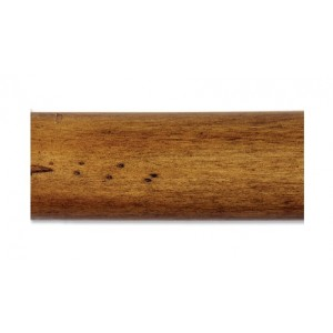 "6' Wood Curtain Rod Pole~2"" Diameter"