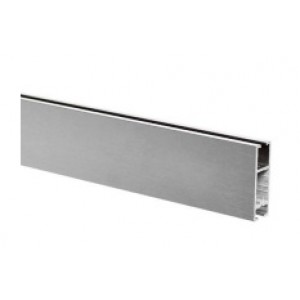"118"" Sintra Aluminum Track~1 1/4"" High"