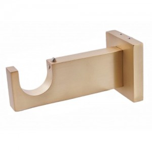 """Square Bracket for 1 1/8"""" Curtain Rod~ Each"""