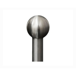 "Ball Finial for 1/2"" Curtain Rod~Each"