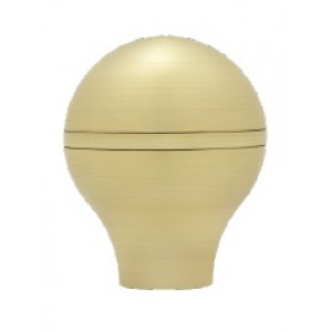 """Tapered Ball Finial for 1 1/8"""" Drapery Curtain Rods~Each"""