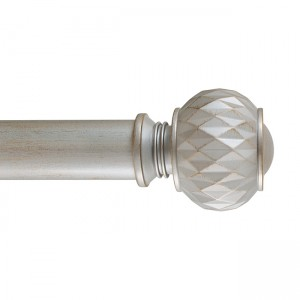 "TFCR300124 Finial for 3"" Curtain Rod~Each"