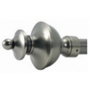 "Turret Finial for 1"" Curtain Rod~Pair"