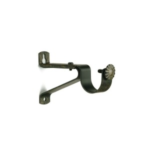 Aged Gold Single Support Bracket~Pair