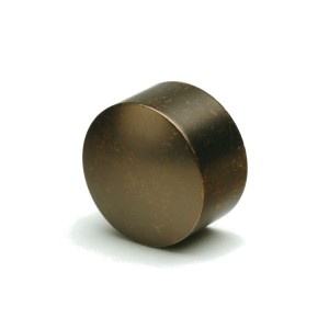 "Weathered Copper End Cap for 1 1/8"" Rod Diameter~Pair"