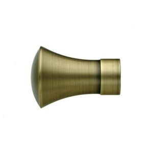 UFN10 Antique Brass Finial~Pair